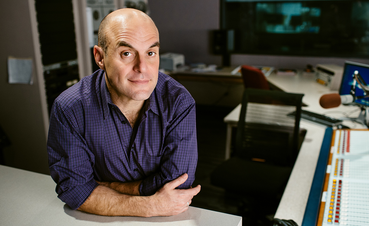 Peter Sagal. October 22, 2013. Photo by Andrew Collings.